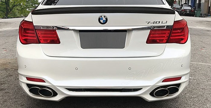 Custom BMW 7 Series  Sedan Rear Bumper (2009 - 2015) - $1190.00 (Part #BM-046-RB)