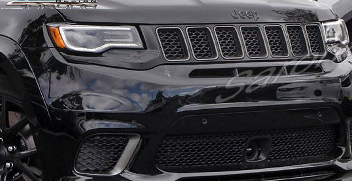 Custom Jeep Grand Cherokee  SUV/SAV/Crossover Grill (2017 - 2019) - $390.00 (Part #JP-016-GR)