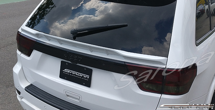Custom Jeep Grand Cherokee  SUV/SAV/Crossover Trunk Wing (2011 - 2013) - $375.00 (Part #JP-012-TW)