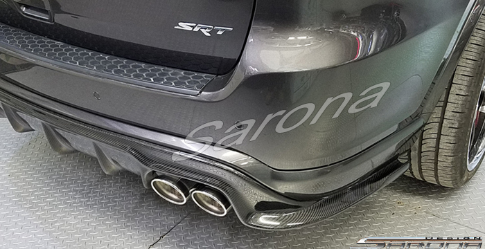 Custom Dodge Durango  SUV/SAV/Crossover Rear Add-on Lip (2017 - 2020) - $690.00 (Part #DG-013-RA)
