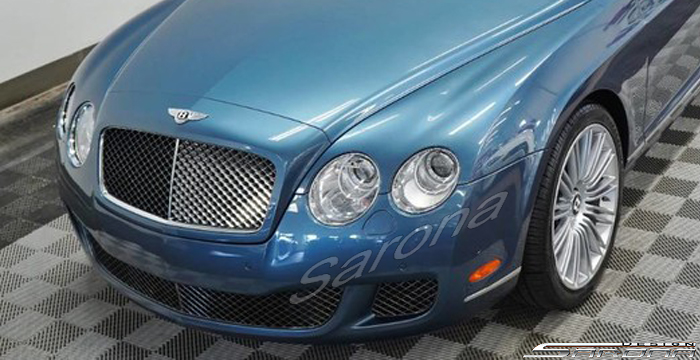 Custom Bentley GTC  Convertible Front Bumper (2005 - 2011) - $2850.00 (Part #BT-041-FB)