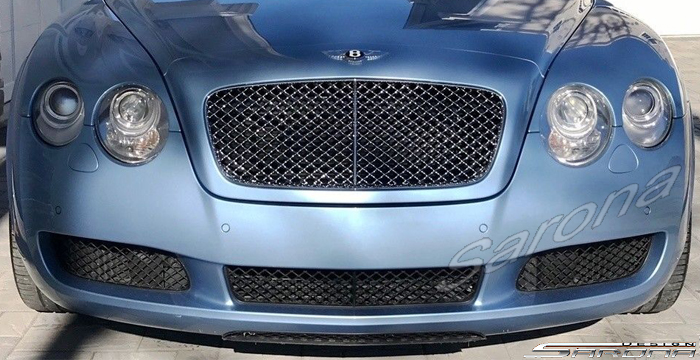 Custom Bentley GTC  Convertible Front Bumper (2005 - 2011) - $980.00 (Part #BT-043-FB)