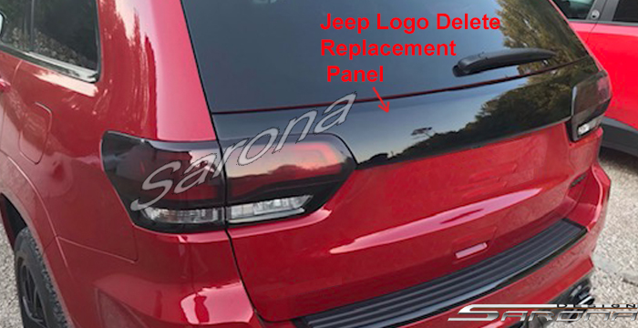 Custom Jeep Grand Cherokee  SUV/SAV/Crossover Tail Gate Panel (2014 - 2020) - $290.00 (Part #JP-001-TG)