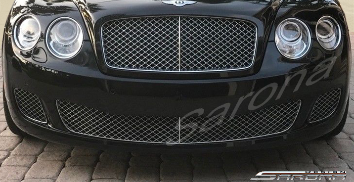 Custom Bentley Flying Spur  Sedan Front Bumper (2009 - 2013) - $2490.00 (Part #BT-049-FB)
