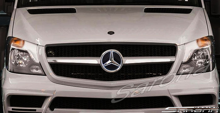 Custom Mercedes Sprinter  All Styles Grill (2014 - 2018) - $890.00 (Part #MB-066-GR)