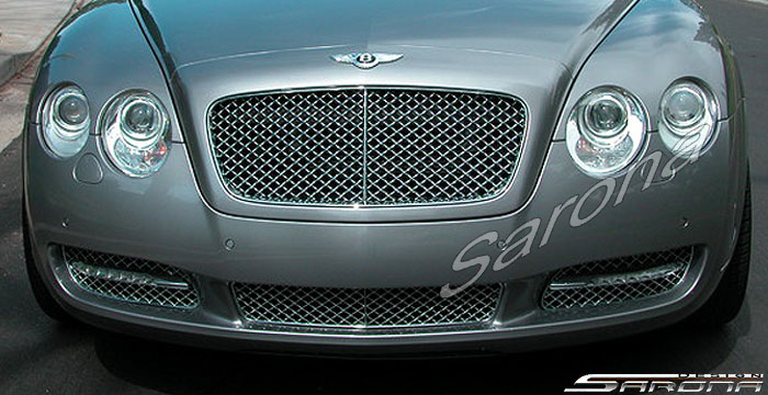 Custom Bentley Flying Spur  Sedan Front Bumper (2005 - 2011) - $980.00 (Part #BT-054-FB)