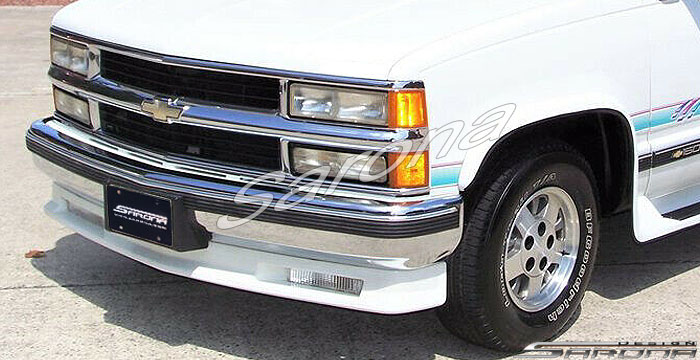 Custom Chevy Tahoe  SUV/SAV/Crossover Front Add-on Lip (1988 - 1999) - $375.00 (Part #CH-026-FA)