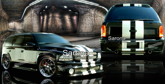 Custom 98-02 Durango Kit # 200-02  SUV/SAV/Crossover Body Kit (1998 - 2003) - $1290.00 (Manufacturer Sarona, Part #DG-009-KT)