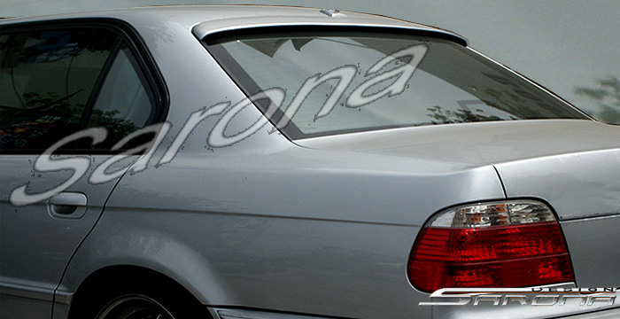 Custom BMW 7 Series Roof Wing  Sedan (1995 - 2001) - $299.00 (Manufacturer Sarona, Part #BM-006-RW)