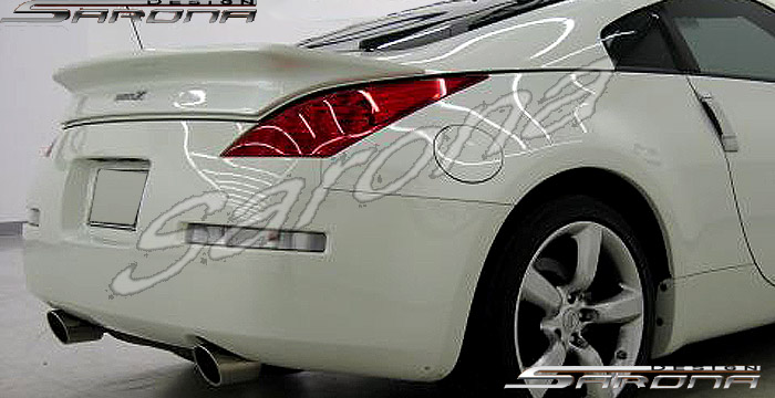 Custom Nissan 350z Trunk Wing Coupe 2003 2008 325