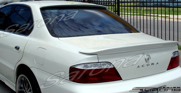Custom Acura TL Trunk Wing Sedan - 2003 acura tl body kit