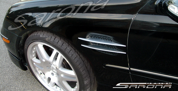 Custom Mercedes CLK Coupe & Convertible Fenders (1998 ...
