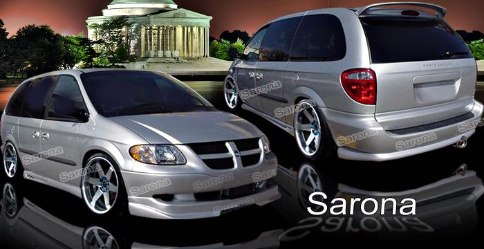 dodge grand caravan body kit Custom Dodge Grand Caravan Body Kit - Sarona
