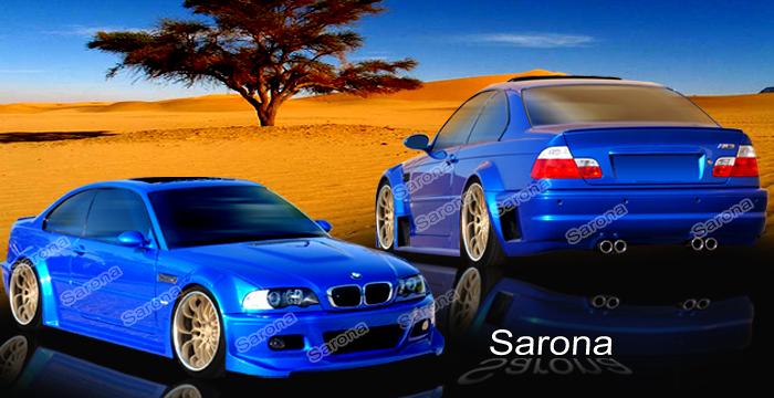 Custom BMW 3 Series Body Kit Coupe (1999 - 2006) - $3790.00 (Manufacturer Sarona, Part #BM-033-KT)