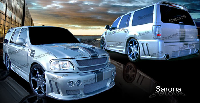 Custom Ford Expedition Suv Sav Crossover Body Kit 2007 2014