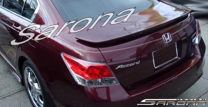 Custom Honda Accord Trunk Wing Sedan 2008 2012 169