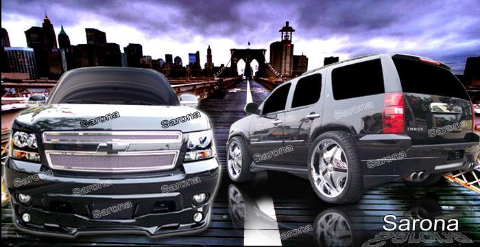 Custom Chevy Tahoe Body Kit SUV/SAV/Crossover (2007 - 2014) - $1350.00 (Manufacturer Sarona ...