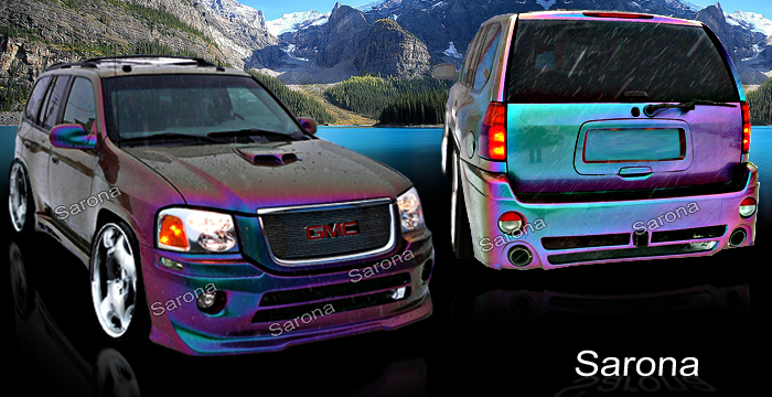 Custom GMC Envoy Body Kit - Sarona