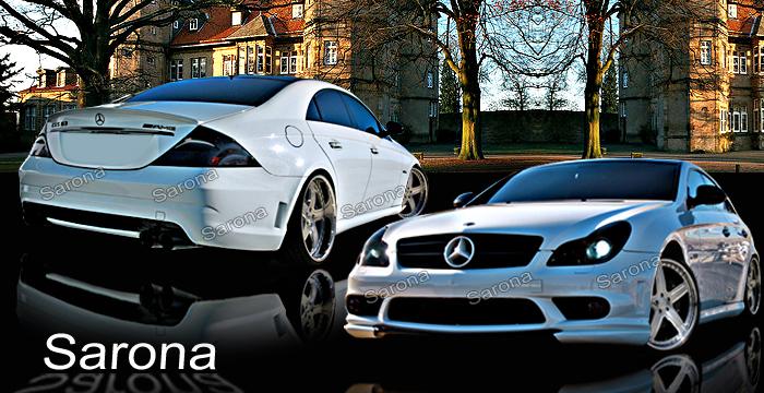 Custom Mercedes CLS Sedan Body Kit (2005 - 2011) - $1990.00 (Manufacturer Sarona, Part #MB-052-KT)