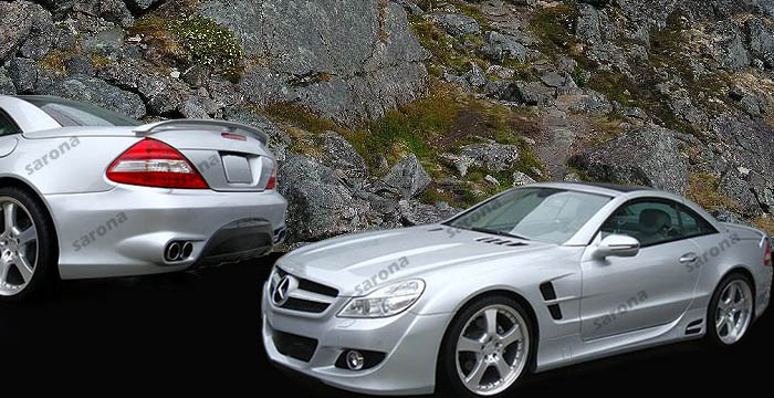 Custom Mercedes SL Convertible Body Kit (2009 - 2012 ...