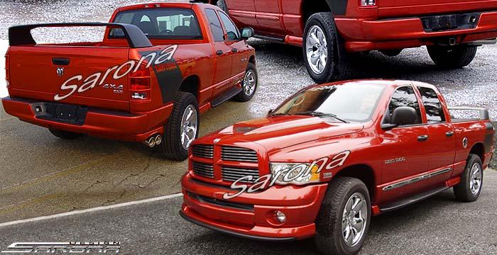 Custom Dodge Ram Pick up Body Kit Truck (2002 - 2005 ...
