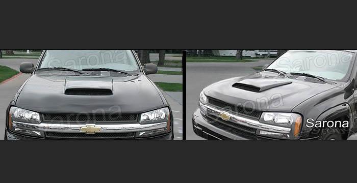 Custom Chevy Trailblazer Hood Scoop SUV/SAV/Crossover (2002 - 2009) - $225.00 (Manufacturer ...