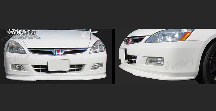 Custom Honda Accord Front Bumper Add On Sedan Front Add On
