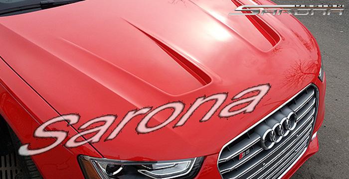 Custom Audi A4 Hood Sedan (2009 - 2012) - $890.00 (Part #AD-001-HD)