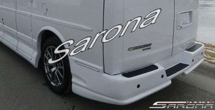 Custom Chevy Van Rear Bumper All Styles (1996 - 2019) - $590.00 (Part #CH-001-RB)