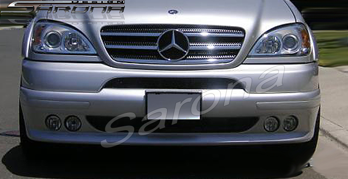 Custom Mercedes ML Front Bumper Add-on SUV/SAV/Crossover ...