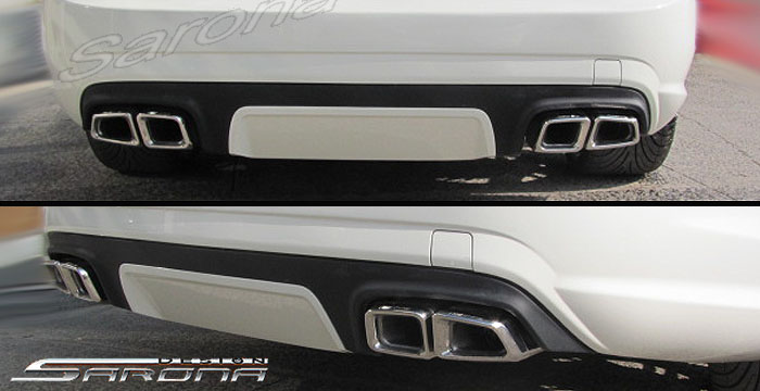 Custom Mercedes CL Rear Add-on Coupe Rear Add-on Lip (2010 ...