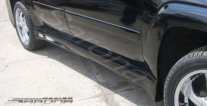 Custom Chevy Trailblazer Side Skirts Suv Sav Crossover 2002 2009 490 00 Part Ch 005 Ss