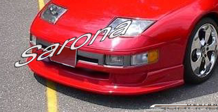 Custom Nissan 300ZX Coupe & Convertible Front Add-on Lip (1990 - 1996) - $320.00 (Part #NS-008-FA)