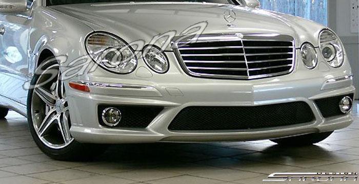 Custom Mercedes E Class Sedan Front Bumper 2007 2009