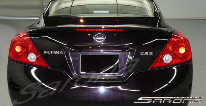 Custom Nissan Altima Coupe Trunk Wing (2008 - 2012) - $269 ...