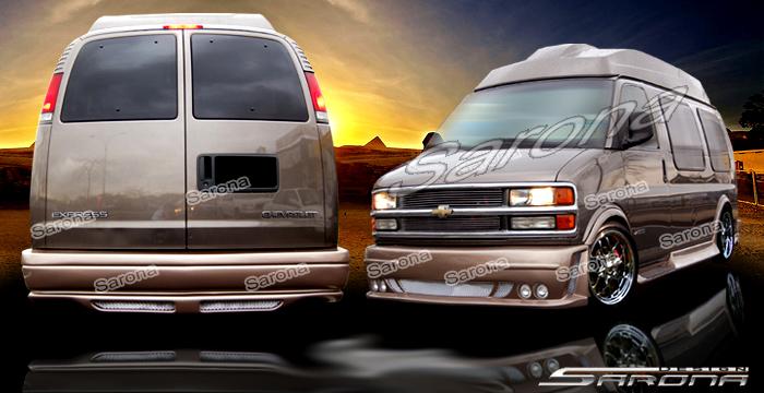 Custom GMC Van Body Kit (1996 - 2002) - $990.00 (Part #GM ...