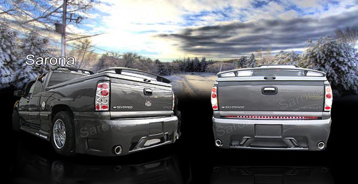 Custom Chevy Silverado Truck Rear Bumper (1999 - 2006 ...