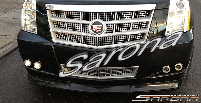 Custom Cadillac Escalade SUV/SAV/Crossover Front Add-on ...