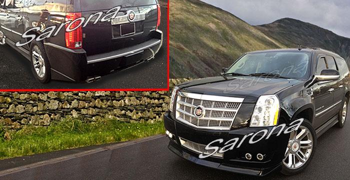 Custom Cadillac Escalade SUV/SAV/Crossover Body Kit (2012 - 2013) - $1790.00 (Part #CD-020-KT)