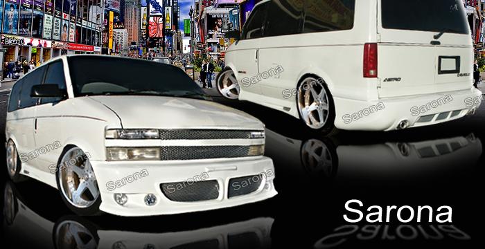 Custom Chevy Astro Body Kit Van (1995 - 2005) - $1290.00 (Manufacturer Sarona, Part #CH-004-KT)