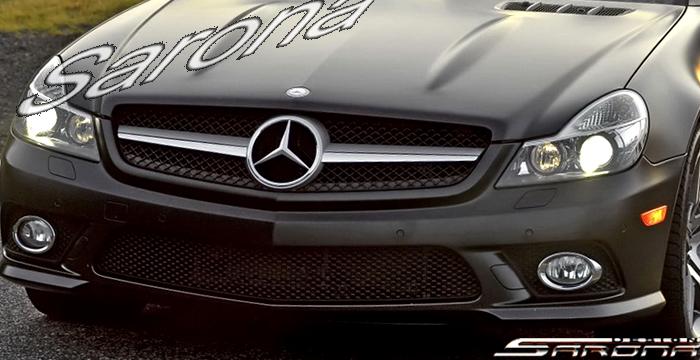 Custom Mercedes SL Convertible Grill (2009 - 2012) - $699 ...