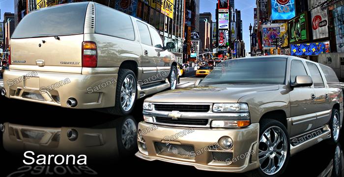 Custom Chevy Suburban Roof Wing SUV/SAV/Crossover (2000 ...