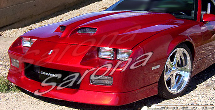Custom Chevy Camaro Coupe & Convertible Hood Scoop (1970 - 2013) - $249.00 (Part #CH-007-HS)