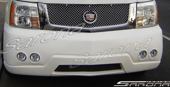 Custom Cadillac Escalade SUV/SAV/Crossover Front Bumper ...