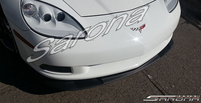 Custom Chevy Corvette Coupe Front Add-on Lip (2005 - 2011 ...