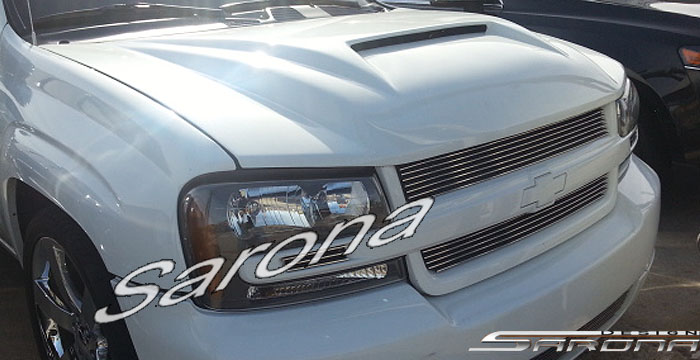 Custom Chevy Trailblazer SUV/SAV/Crossover Hood (2002 - 2009) - $790.00 (Part #CH-019-HD)