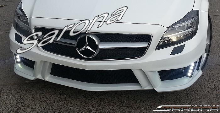 Custom Mercedes CLS Sedan Front Bumper (2012 - 2015 ...