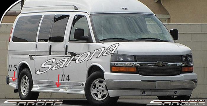 Custom Chevy Van Body Kit (2003 - 2018) - $1190.00 (Part #CH-041-KT)