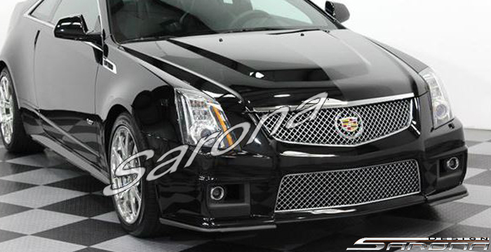 Custom Cadillac CTS Coupe Side Skirts (2008 - 2013) - Call ...