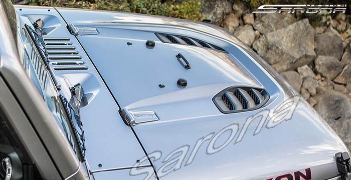 [SCHEMATICS_4FR]  Custom Jeep Wrangler Hood - Sarona | 2006 Jeep Wrangler Hood |  | Sarona